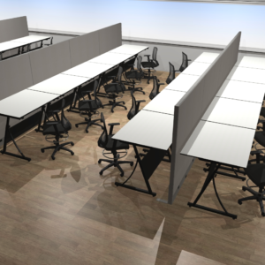 Project #12 - Drafting Workstations with Stools