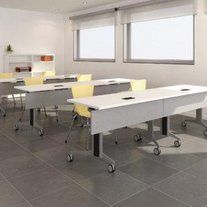 Genius Tables with Locking Castors