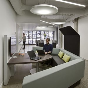 Collaborative Space with Media Table
