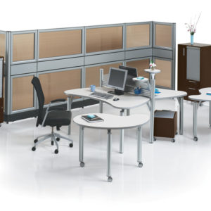 Mobile Meeting Tables